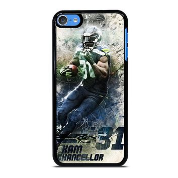 KAM CHANCELLOR SEATTLE SEAHAWKS NEW-iPHONE 8 PLUS iPod Touch 7 Case