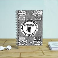 We Are Punk Rock 5 Sos Photo Notebook Auroid