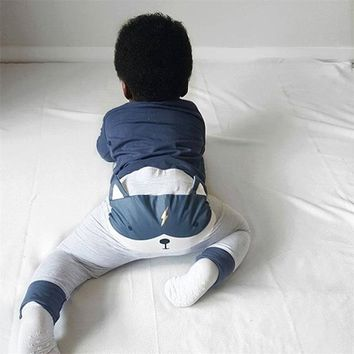 infant cartoon toddler legging clothing baby pants bottoms newborn cute harem pants animal trousers for 0-2 years old girl boy