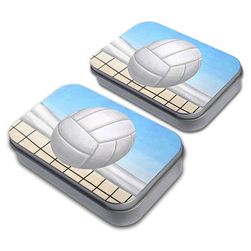 Sporty Volleyball Tin Set