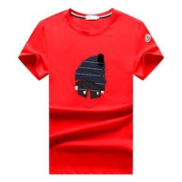 Moncler  men and women T-Shirt White, black,RED  M/3XL