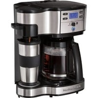 Hamilton Beach The Scoop Two-Way Brewer - Coffeemaker - 49980Z in Drip Coffee Makers | JR.com
