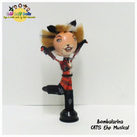 Bombalarina - CATS the Musical Peg Doll by FaBi DaBi Dolls