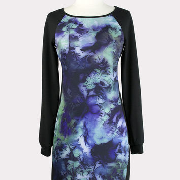 Alivia Watercolor Dress
