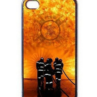 Popular EMT Firefighter Fireman Fire Rescue Best Durable Firefighting Hard Cover Case for iphone 4 4s 5 5s 5c 6 6s 6plus 6splus