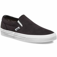 Vans Classic Slip On(Pinked Suede)Licorice