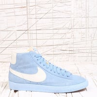 Nike Blazer Blue Suede Vintage Trainers at Urban Outfitters