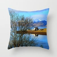Bliss Throw Pillow by Haroulita | Society6