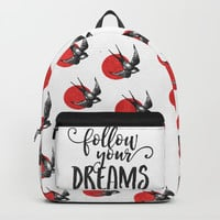 Follow Your Dreams Backpack by lostanaw