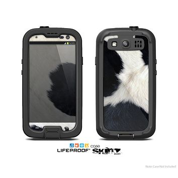 The Real Cowhide Texture Skin For The Samsung Galaxy S3 LifeProof Case