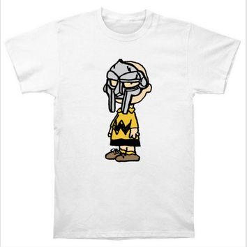 Charlie Doom Charlie Brown MF DOOM Wu Tang Madlib Madvillain Hip Hop Rap T Shirt