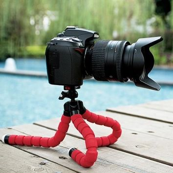 Flexible Sponge Octopus Tripod
