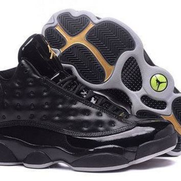 Air Jordan 13 Retro Black Grey Sneakers Men Top Quality JD 13 Basketball Shoes For Sal