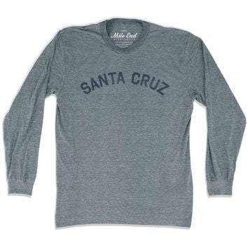 Santa Cruz City Vintage Long Sleeve T-Shirt