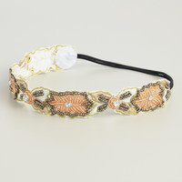 Floral Fabric Applique Headband - World Market