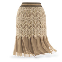 Toffee and Lace Skirt - Women's Clothing & Symbolic Jewelry – Sexy, Fantasy, Romantic Fashions