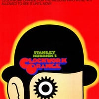 A Clockwork Orange 11x17 Movie Poster (1972)