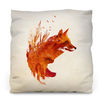 Plattensee Fox Throw Pillow