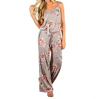 Kawaii Floral Jumpsuit