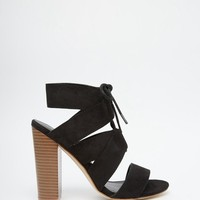 New Look Wide Fit | New Look Wide Fit Barely There Heels at ASOS