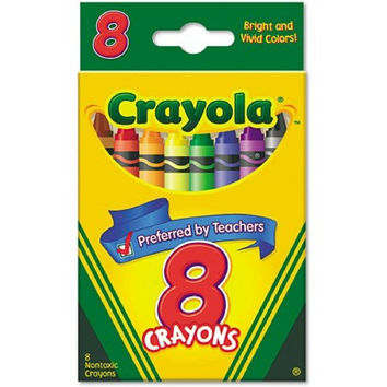 Crayola Classic Color Pack Crayons, 8 count