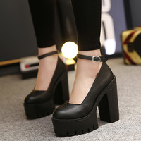 Casual Thick Heels Pumps