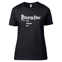 Harry Potter Inspired Clothing - Ravenclaw Values Crew Neck - Ladies