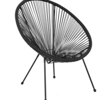 Valencia Oval Comfort Series Take Ten Rattan Lounge Chair