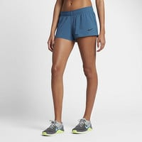 "The Nike Women's 2"" Reversible Training Shorts."