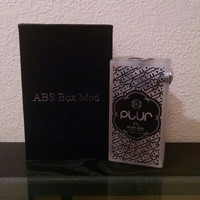 PLUR BOX Mechanical Box w/Pyrex RDA Atomizer Frosted Edition by Deadmodz