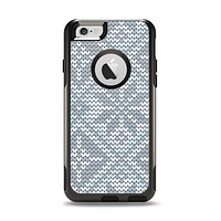 The Knitted Snowflake Fabric Pattern Apple iPhone 6 Otterbox Commuter Case Skin Set