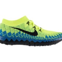 Nike Free 3.0 Flyknit Men's Running Shoes - Volt