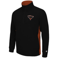 Texas Longhorns Charger 1/2 Zip Jacket – Black