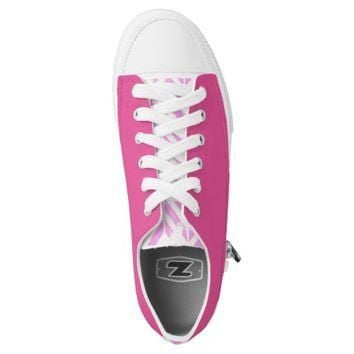 Custom Pink Low converse Designer Sneakers Printed Shoes