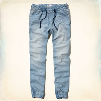 The Hollister Denim Jogger Pants