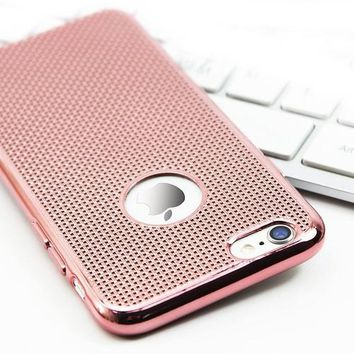 Plated Net Design iPhone Case