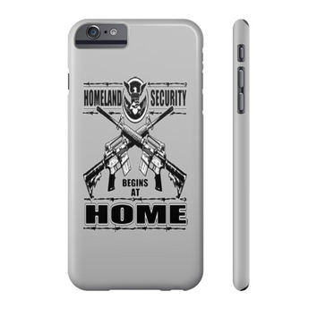 Homeland Security Cell Phone Case