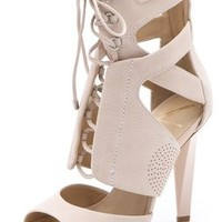 B Brian Atwood Deliziosa Laced Sandals | SHOPBOP