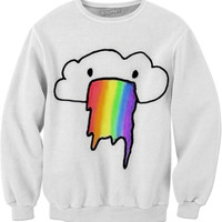 Rainbow Rain Sweater