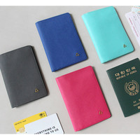 Indigo The basic prism passport cover case