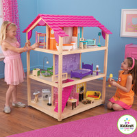 KidKraft So Chic Dollhouse with Furniture - 65078