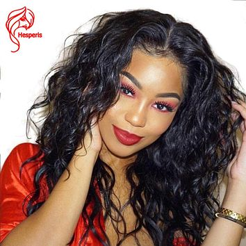 Hesperis Body Wave Glueless Full Lace Human Hair Wigs With Baby Hair Pre Plucked Wavy Wig Brazilian Remy Hair Full Lace Wigs