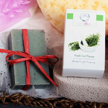 Fresh Cut Thyme Jewelry Soap (Comes with Jewel!)