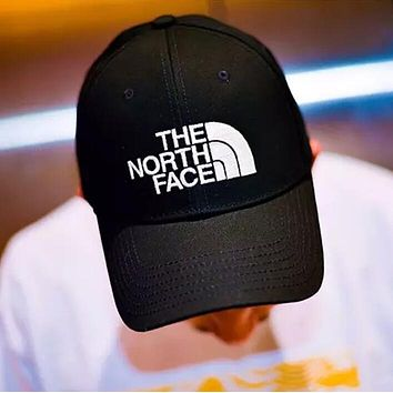 """The North Face"" Trending Women Men Stylish Embroidery Baseball Cap Hat Sport Sunhat Cap Black I12425-1"