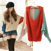 A 082702 Color sweater