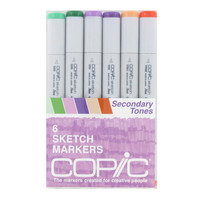 Secondary Tones Copic Sketch Marker Set | Hobby Lobby | 109231