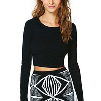 Nasty Gal Athame Crop Sweater