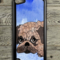 Painting Pug iPod 5 Touch Case