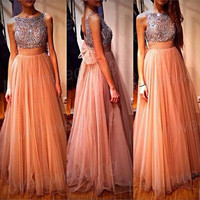 Cheap Prom Dress,Long Prom Dress,Cap Sleeve Prom Dress,100% handmade Prom Dress/ Evening Dress/ Party Dress /Pageant Dress /Formal Dress