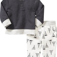 Old Navy Sweatshirt & Pants Set For Baby